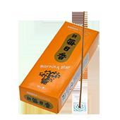 Ambre : Encens Japonais Morning Star ( Nippon Kodo ) ~ Étui de 200 Bâtonnets + 1 Porte-Encens
