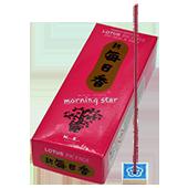 Lotus : Encens Japonais Morning Star ( Nippon Kodo ) ~ Étui de 200 Bâtonnets + 1 Porte-Encens