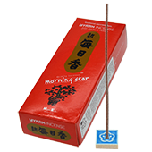 Myrrhe (Myrrh) : Encens Japonais Morning Star ( Nippon Kodo ) ~ Étui de 200 Bâtonnets + 1 Porte-Encens