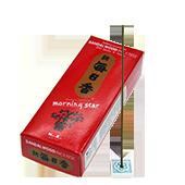 Santal : Encens Japonais Morning Star ( Nippon Kodo ) ~ Étui de 200 Bâtonnets + 1 Porte-Encens