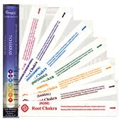 7 Chakras : Encens Naturel de la marque Aromatika ~ Boîte Hexagonale de 21 Bâtonnets