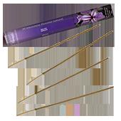 Iris : Encens Naturel de la marque Aromatika ~ Étui de 20 bâtonnets