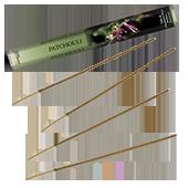 Patchouli : Encens Naturel de la marque Aromatika ~ Étui de 20 bâtonnets