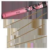 Rose : Encens Naturel de la marque Aromatika ~ Étui de 20 bâtonnets