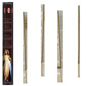 Christ Miséricordieux : Encens Religieux ~ Boîte Hexagonale de 20 Bâtonnets