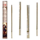 Marie Défait les Noeuds : Encens Religieux ~ Boîte Hexagonale de 20 Bâtonnets