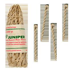 """Genévrier : Cordelettes Népalaises """" Juniper """" ~ Fagot de 35 Cordelettes"""