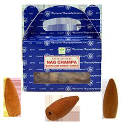 """Encens Backflow """" Nag Champa """" de la marque Satya (BNG)"""