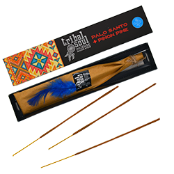 Palo Santo + Pin : Encens Amérindien Tribal Soul