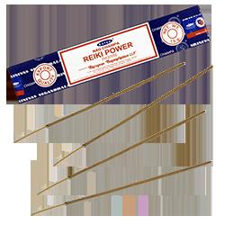 Reiki Power : Encens Indien Satya ~ Boîte de 15 Grammes (13 Bâtonnets)